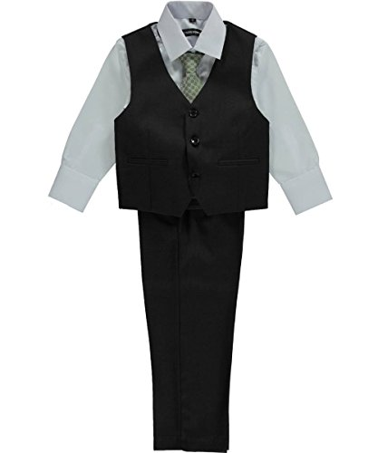 Kids World Little Boys'Titchwell 5-Piece Suit - Dark Olive, 7 by Kids World (Image #2)