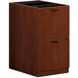 HON BL Series Pedestal File , 2 File Drawers , 15-5/8