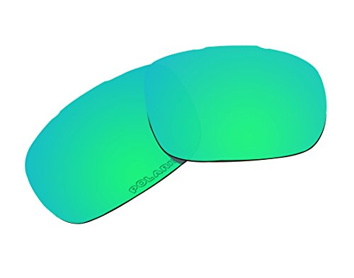 Replacement Lenses Polarized for Oakley Twoface Sunglasses Green Mirror - 05 Oo9189