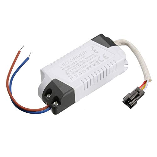 - ZCHXD LED Driver 8-12W Constant Current 300mA High Power AC 85-265V Output 24-46V External Power Supply LED Ceiling Lamp Rectifier Transformer