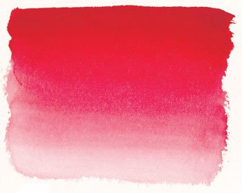 Sennelier L'Aquarell French Watercolor Half Pan Replacement, Bright Red