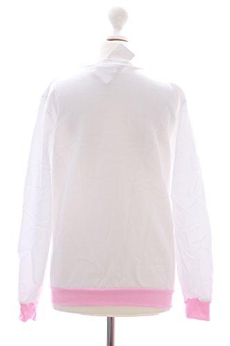 TS-01B weiss Cat Katze cute süß Neko Print Sweatshirt Pullover Lolita Harajuku Japan