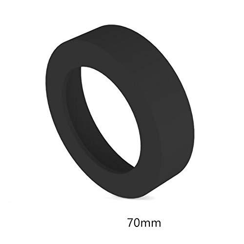 Gtell 4 PCS Eco-friendly Non-Slip Silicone Coaster for 30 oz Tumbler (Black Only) ()