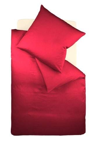 Fleuresse Mako-Jersey-Spannlaken comfort Farbe bordeaux 4580