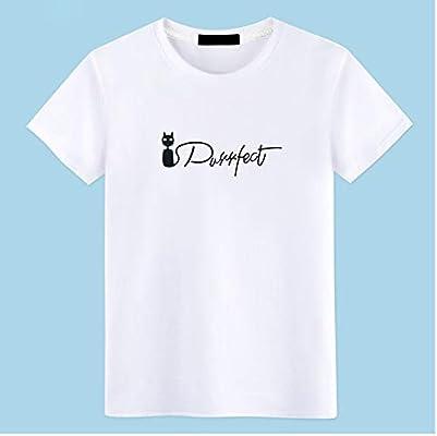 ZWH Camiseta de impresión Suelta de algodón Camiseta Cuello Redondo Resorte Sangre-Manga y la Camisa Prenda compasivo K1502 Marea (Color : J- Sapphire, Size : XXXXL): Amazon.es: Electrónica