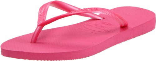 Havaianas Slim Womens Synthetic Flip Flops