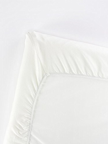 BABYBJORN Fitted Sheet for Travel Crib Light - Organic White by BabyBjörn