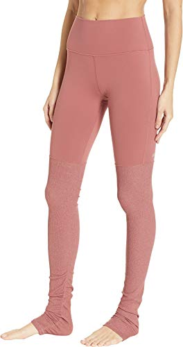 ALO Women's High Waisted Goddess Leggings Rosewood X-Small 33 by ALO Sport (Image #1)