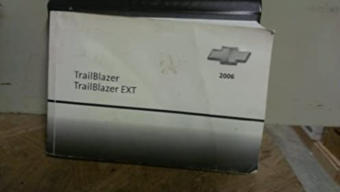 2006 chevrolet trailblazer owner s manual amazon com books rh amazon com 2006 chevrolet trailblazer owners manual online 2006 chevy trailblazer service manual