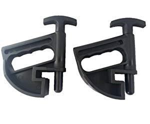 Sutekus 2PC Set Tire Changer Tire Bead Clamp Drop Center Tool