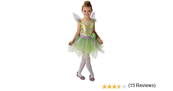 Disney – i-620691l – Disfraz Campanilla – Talla L: Amazon.es ...