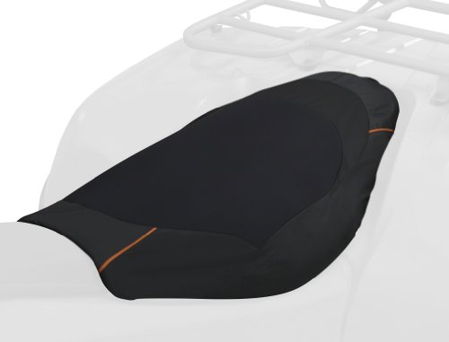 Deluxe Atv - Classic Accessories 15-098-013801-00 Black Deluxe ATV Seat Cover