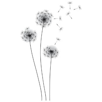 RoomMates Whimsical Dandelion Peel And Stick Giant Wall Decals Part 49