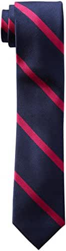 Tommy Hilfiger Men's Thin Bar Stripe Slim Tie