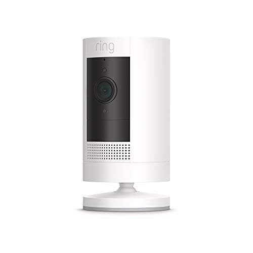 All-new Ring Stick Up Cam HD security camera with two-way talk, Works with Alexa