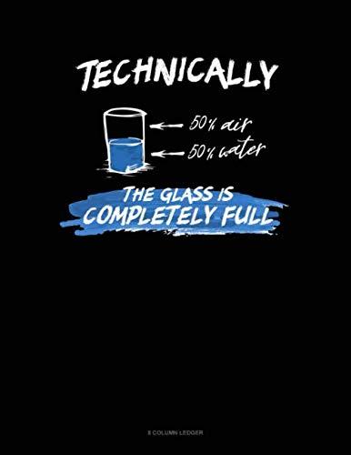 (Technically The Glass Is Completely Full: 8 Column Ledger)