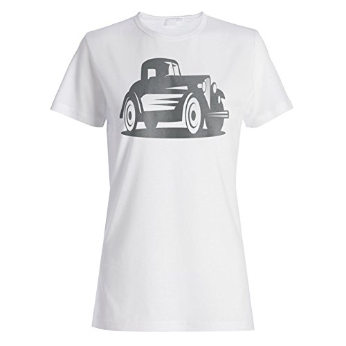 Vintage Old Cars Auto Neuheit Lustig Damen T-shirt a954f