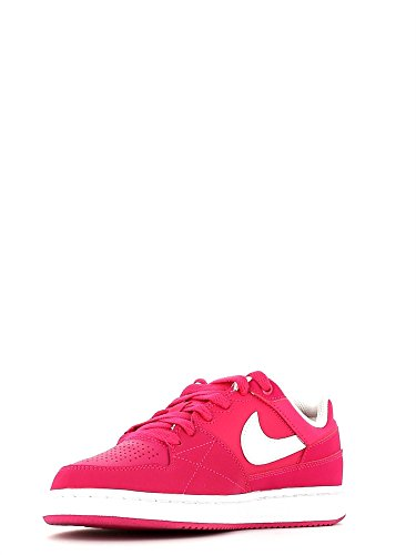 Nike - Nike Priority Low Gs Damen Sportschuhe Leder Fuchsia 653688 Pink