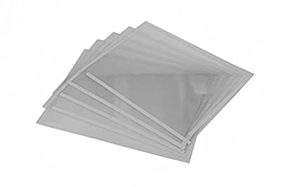 (5) Sand Blaster Window Films fits 25 Gallon Benchtop Sandblast Cabinet