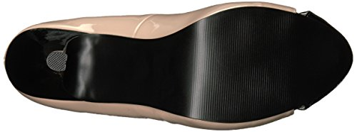 Pleaser Womens Eve07/B-r Black-cream Patent klNzx8pOq