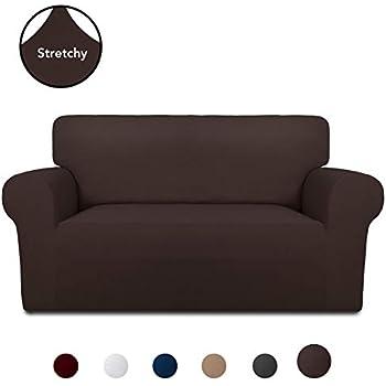 Amazon.com: PureFit Super Stretch Chair Sofa Slipcover ...