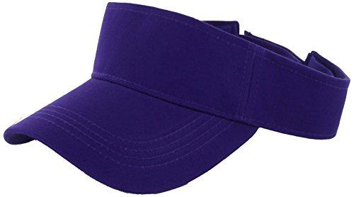 WALLER PAA Visor Sun Plain Hat Sports Cap Colors Golf Tennis Beach New Adjustable Men Women - Ski Sun Miami And