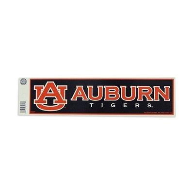 Rico Industries NCAA Auburn Tigers Sports Fan Bumper Stickers, Blue & Orange, One Size