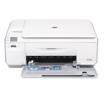 HP® Photosmart C4480 All-in-One Inkjet Printer, Scanner, Copier PRINTER,PS C4480 AIO T1390TBK (Pack of2)