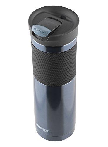 Contigo SnapSeal Byron Vacuum Insulated Stainless Steel Travel Mug, 24oz, Stormy Weather