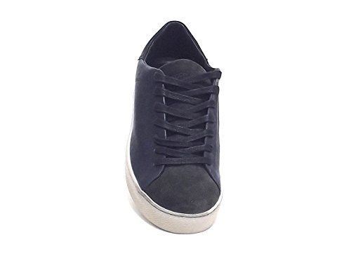 Crime - Zapatillas para hombre azul turquesa