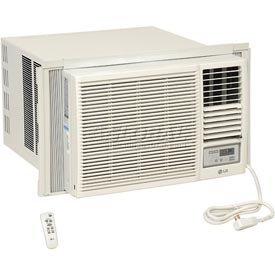 LG LW2415HR Through The Wall Air Conditioner, 208/230V w/Electric Heat & Remote - 22,000 BTU