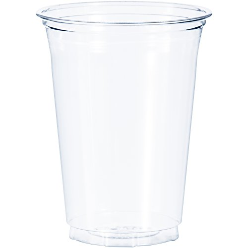 Dart TR16 16 oz Flush-fill Ultra Clear PET Plastic Cup (Case of 1000)
