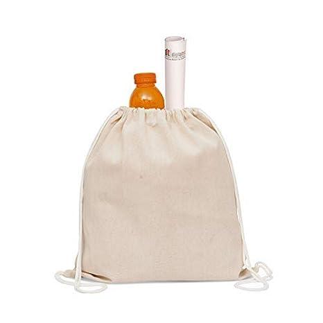 Amazon.com: Daily Home Essentials Bolsas de lona de algodón ...