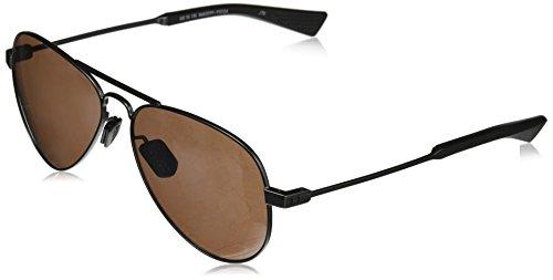 Under Armour Aviator Sunglasses, UA Getaway Satin Gunmetal/Black/Road, L/XL