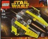 LEGO Star Wars Mini Jedi Starfighter 6966 (Sets Wars 2005 Star Lego)