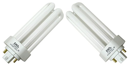 (Eiko 49265 - TT26/27 Triple Tube 4 Pin Base Compact Fluorescent Light Bulb - 2 Pack)
