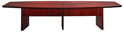 Mayline CMT12CRY Corsica Conference Table, 12', Sierra Cherry - Mayline Cherry Veneer