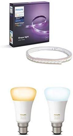 Philips Hue 2.0 Plus Light Strip Extension 1m 25W LED Shape Light Color Changing