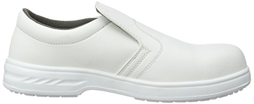 40 seguridad S2 Slip color Negro On Zapato Portwest talla de blanco FW81 w6aqBO