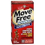 Move Free Advanced, 80 tablets - Joint Health Supplement with Glucosamine and Chondroitin (Pack of 6)