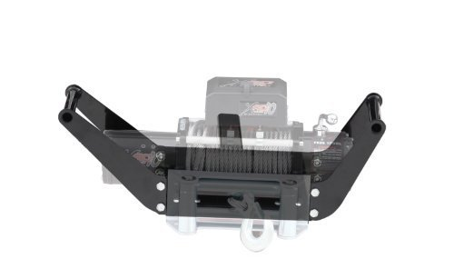 Smittybilt 2811 Textured Black Winch Cradle for 8,000 lb. - 12,000 lb. Winches by Smittybilt