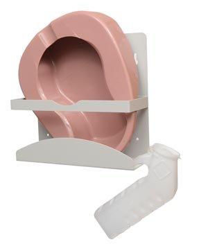 Bowman Manufacturing Company NC001-0512 Aluminum Bedpan/Urinal Dispenser (Pack of4)