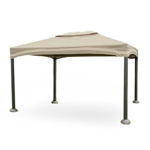 Roman Style Cabin Gazebo Replacement Canopy - RipLock 350 by Garden Winds