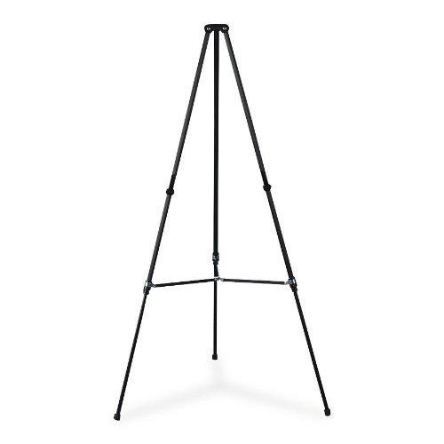 Optional Pad Retainer for Aluminum Telescoping Tripod Easel, Black CEB58944BK by Quartet