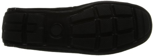 Stacy Adams Mens Ruther Slip-on Mocassino In Pelle Scamosciata Nera