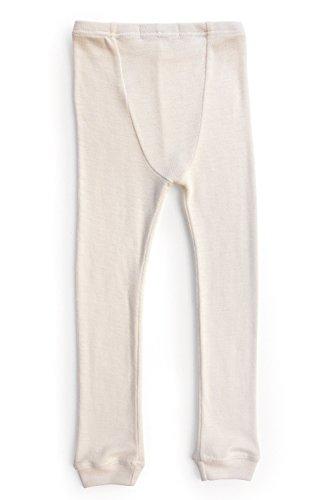 Merino Wool Kid White boy and Girl. Thermal Underwear Base Layer Unisex. Size 6 by Simply Merino (Image #8)