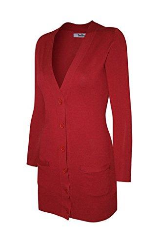 side button cardigan - 3
