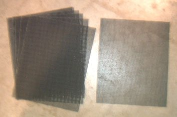 Kiln Fired Glass Supplies - Grit Cloth 9