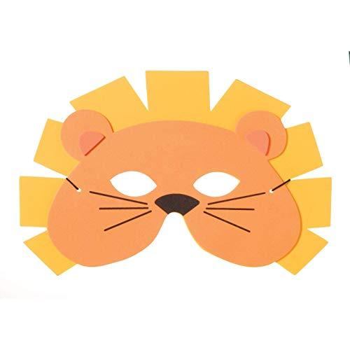 Bulk Buy: Darice Foamies Mask Lion Orange and Yellow (6-Pack) 106-4051]()