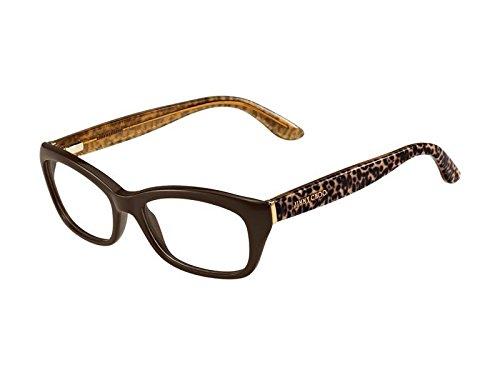 JIMMY CHOO Eyeglasses 82 08T4 Brown / Pan Transparent Ude 52MM
